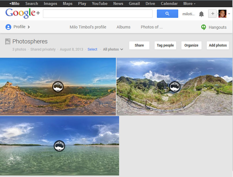 How to upload non-android 360 panoramas to Google Maps