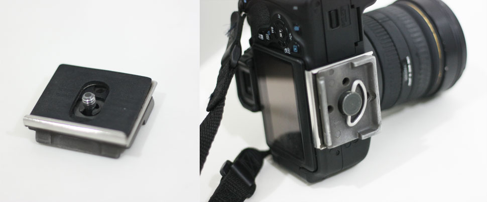 Manfrotto Anti-Twist Quick Release Plate