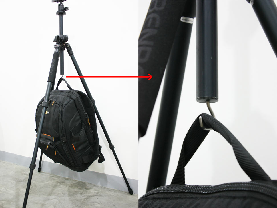 Benro A1980T Tripod Hook for weight